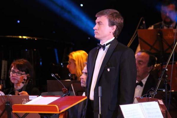 Єлізар Пащенко - Диригент та перший кларнет Оркестру